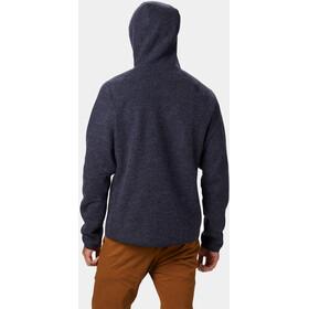 Mountain Hardwear Hatcher Täysvetoketjullinen Huppari-takki Miehet, dark zinc